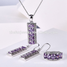 Simple jewelry set for Christmas gift with high quality&competitive price