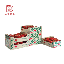Good quality new square fruit flower paper carton boxes