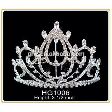 Младенец тиара сплав тиара королевская корона дети тиара