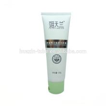 Tubo de empaquetado crema blanco 120ml para hombres