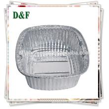 Plateau en aluminium jetable pour les nouilles / riz / fruits