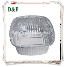 Bandeja de papel de alumínio descartable para noodles / arroz / frutas