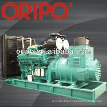 1000kva / 800kw diesel généré générateur électrique spécifications canopée conteneur avec stamford alternateur 3 phase 380v
