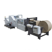 Máquina de fazer saco de papel para comida com alça