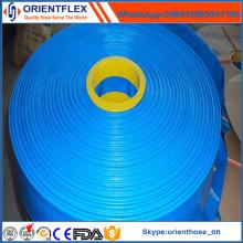 2016 nouveau matériau coloré rouleau plat tuyau