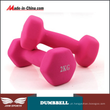 Novos Equipamentos Fitness Vinyl Coated Dumbbells