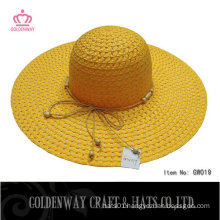 Lady's Floppy Paper straw hats to decorate