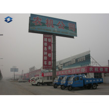 Two Sides Expressway Ad Board Billboard Steel Poles
