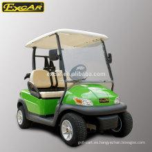 Carrito de golf de 2 asientos