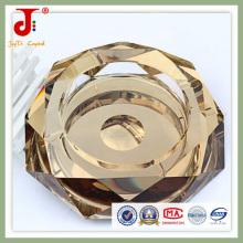 Cinzeiro de vidro de ouro para uso do hotel (JD-CA-205)