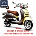 Znen ZN50QT-E GRAND RETRO ricambio scooter completo