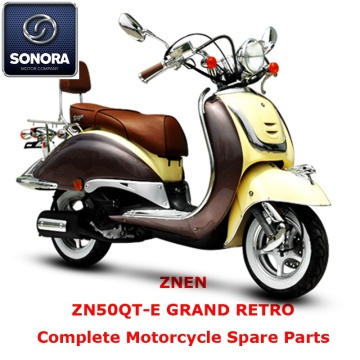 Znen ZN50QT-E GRAND RETRO complet pièce de rechange de scooter