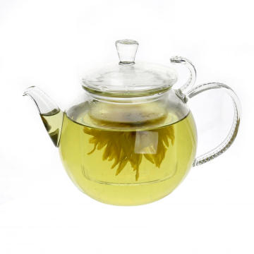 800ml Mouthblown Pretty Pyrex Teapot for Sale