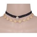 Gótico encaje negro Retro Collar collar Chocker