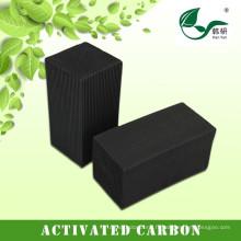 Médias d'écran de filtre à air actif de carbone de pièce propre de Honeycomb