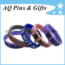 Изготовленный на заказ wristbands браслета с заполненный цвет для детей