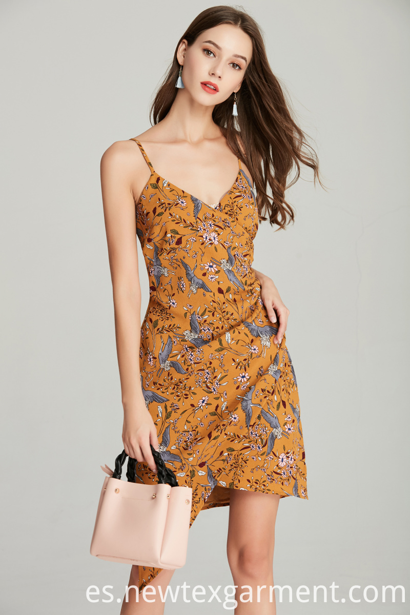 fashion printed summmer dress