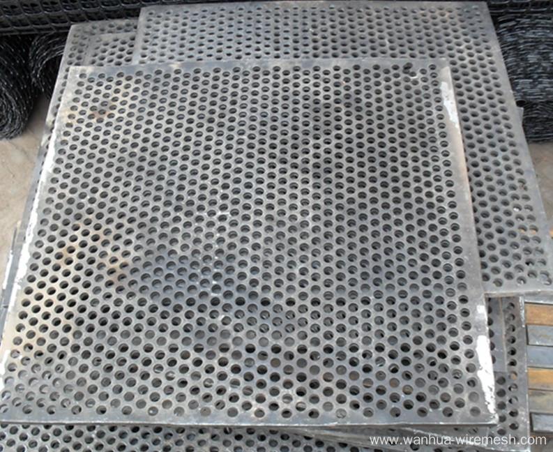 Perforated Plastic Mesh Sheets For Speaker Grill