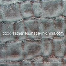 Top Selling Semi-PU Furniture Leather (QDL-51104)