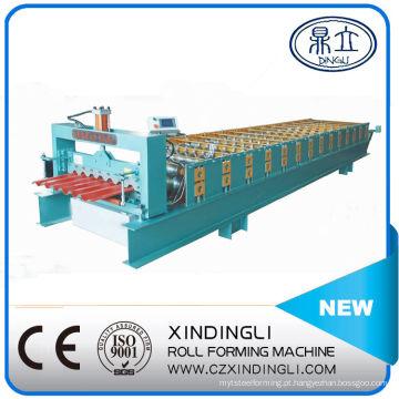 Máquina formadora de rolos de folha de telhado ibr de aço
