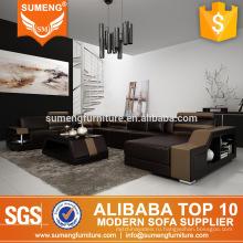 Alibaba Китай производитель оригинальный дизайн, роскошная итальянская мебель для гостиной кожаный диван секционные