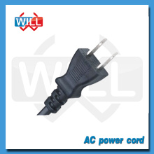 High quality 7/12/15A 125V Japan standard pse 2pin power cord