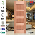 Interior Living Room Sapelli Natural Door Panel