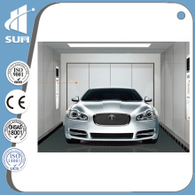 with Ce Certificate Painted Steel Finish Vehicle Elevator