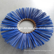 PP Material Blue Road Sweeper Brush (YY-052)