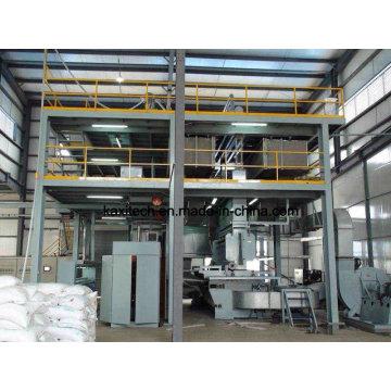 1600mm Melhor máquina não tecida S Ss SMS Fazendo máquinas Fabric Making Line