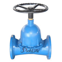 Cast Iron Rubber Lined Chemical Diaphragm Valve