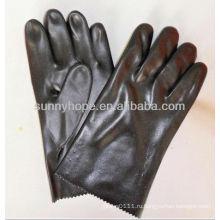 Анти-химические перчатки с ПВХ покрытием