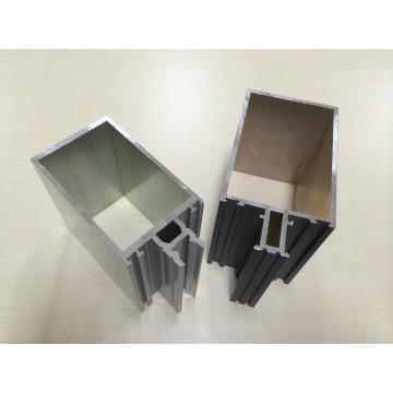 Perfis de alumínio para parede de cortina