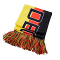 Custom knitted printed polyester scarf all coutries