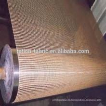 Resistencia a alta temperatura Cinta de secador de malla de alambre de Teflón no pegajosa