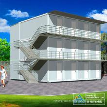 Design de la maison de conteneur de taille standard ISO