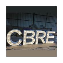 Variable Pressure LED Letter Lamp Letter Marquee Decoration Lighting LOGO LED Vintage Light Bulb Letters