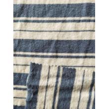 Linen Poly Y/D Stripe Jersey