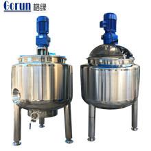 Tanque de mezcla de líquido de la chaqueta de calefacción eléctrica de acero inoxidable