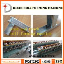 Dx Metal Stud & Track / C Channel Roll formando a máquina