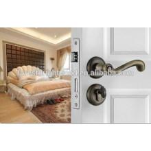Cerradura de puerta de madera interior de acero inoxidable