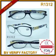 Comercial garantía gafas Vintage y gafas de lectura para personas mayores (R1312)