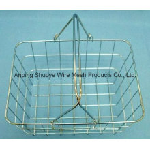 Kitchen Over The Cabinet Door Metal Wire Storage Basket