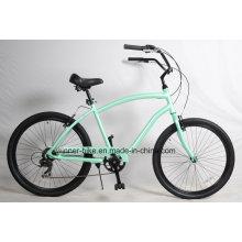 Shimano 7 Speed Alloy Frame para hombre Beach Cruiser Bicycle