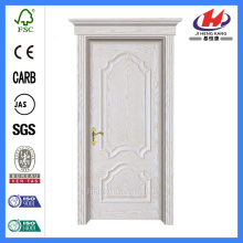 *JHK-M02 Two Panel Interior Doors Interior Laminated Veneer House Doors Flush Doors Design