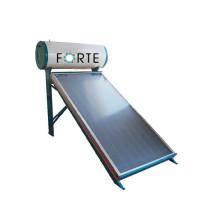 Colector de calentador de agua solar de placa plana compacta