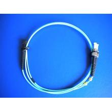 10g Om3 MTRJ-ST / PC cable de fibra óptica dúplex de parche