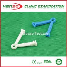 Henso médico estéril plástico estéril abrazadera de cordón umbilical