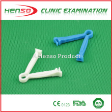 Henso medical disposable sterile plastic umbilical cord clamp