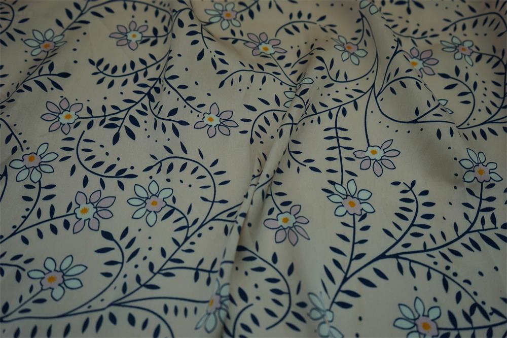 Sea Island Hammer Satin Fabric